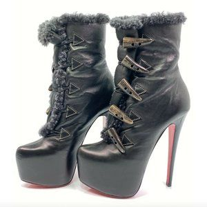 Christian Louboutin Oulanbator 160 Ankle Boots 35